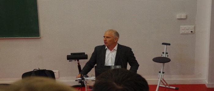 Jean-Claude SAGOT - Journée de la Smsts à l'UTBM Montbéliard