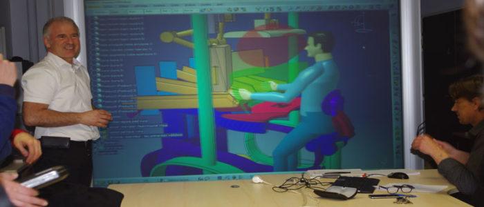 Mannequin numérique, pour aider au dimensionnement de produits ou de systèmes