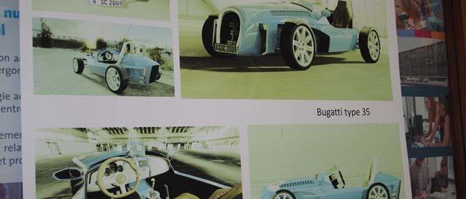 Bugatti Type 35 Journée de la Smsts à l'UTBM Montbéliard - Ergonomie et santé au travail